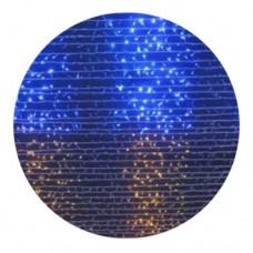 Гирлянда-водопад (Curtain-Lights) 320 BY внутренняя, пров.:прозрачный, 5м (Синий; Желтый)