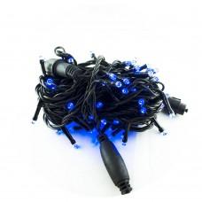 Гирлянда-нить (String-Lights) 2.5Line100-B наружная, пров.:черный, 8м (Синий)