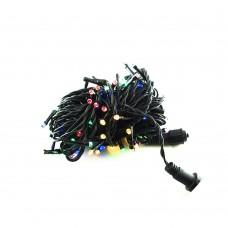 Гирлянда-нить (String-Lights) 2.5Line100-M наружная, пров.:черный, 8м (Разноцветная)