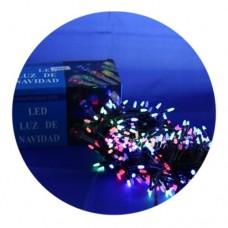 Гирлянда-нить (String-Lights) 100M-3 внутренняя, пров.:черный, 7м (Разноцветная)