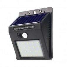 Уличный настенный светильник с датчиком движения 20LED (BG102)
