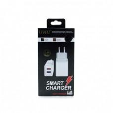 Адаптер UKC Fast Charge AR 001 2USB