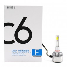 Лампы светодиодные С6 LED H1 (3800Лм, 36Вт, 8-48В)