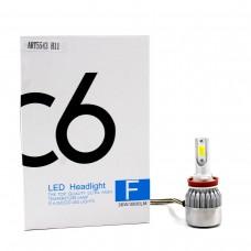 Лампы светодиодные С6 LED H11 (3800Лм, 36Вт, 8-48В)