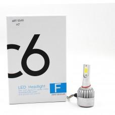 Лампы светодиодные С6 LED H7 (3800Лм, 36Вт, 8-48В)