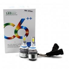 Лампы светодиодные С6 LED HB4 9006 (3800Лм, 36Вт, 8-48В)