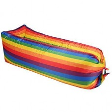 Надувной матрас-ламзак AIR-sofa Rainbow Радуга