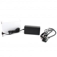 Адаптер 12V 5A (5.5х2.5мм, пластик + кабель разъём)