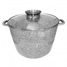 Казан UNIQUE UN-5220 (10 л. 28*20cm, круглый, stock pot )