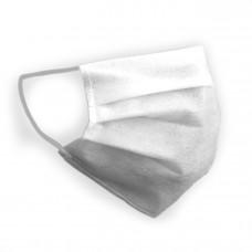 Защитная маска для лица Украина Белая (одноразовая, швейка)