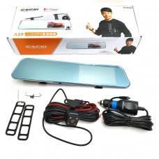 Видеорегистратор DVR A29  (TouchScreen, HD1080 зеркало под две камеры)