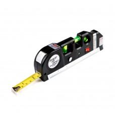 Лазерный уровень со встроенной рулеткой Laser Level Pro 3