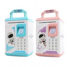 Копилка детская электронная ROBOT BODYGUARD (Синяя, Розовая)