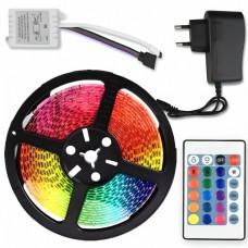 Лента SMD 3528 5м RGB Комплект