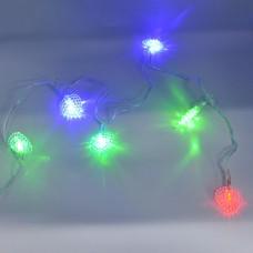 Гирлянда-нить (String-Lights) 20Parts-3 внутренняя, пров.:прозрачный, 3м (Разноцветная)