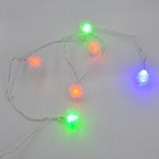 Гирлянда-нить (String-Lights) 20Parts-6 внутренняя, пров.:прозрачный, 3м (Разноцветная)