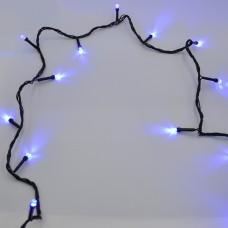 Гирлянда-нить (String-Lights) 100B-7 внутренняя, пров.:черный, 7м (Синий)