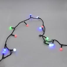 Гирлянда-нить (String-Lights) 200M-6-2 внутренняя, пров.:черный, 12м (Разноцветная)