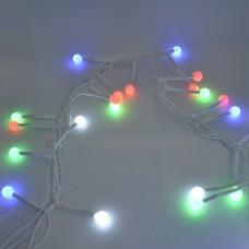 Гирлянда-нить (String-Lights) 100M-9 внутренняя, пров.:белый, 3м (Разноцветная)
