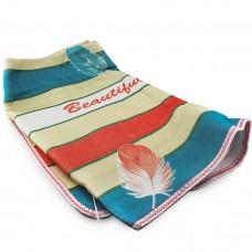 Простынь электрическая с сумкой Electric Blanket 150х120см (полосы, Цветная) 5734