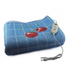Простынь электрическая с сумкой Electric Blanket 150х170см (широкие полосы, Цветная) [5714-18]