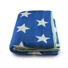 Простынь электрическая с сумкой Electric Blanket 150х170см (звезда, Белая) [7421]