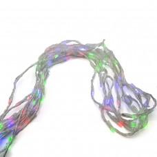 Гирлянда-водопад (Curtain-Lights) Itrains-480-M внутренняя, пров.:прозрачный, 3*3м (Разноцветная)