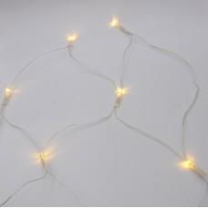 Гирлянда-сетка (Net-Lights) NET180WW-1 внутренняя, пров.:прозрачный, 2м (Белый-теплый)