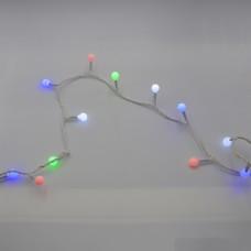Гирлянда-нить (String-Lights) 200M-6-1 внутренняя, пров.:белый, 12м (Разноцветная)