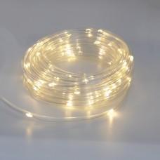 Гирлянда-лента (Rope-Lights) Copper Wire100WW-3 наружная, пров.:прозрачный, 10м (Белый-теплый)