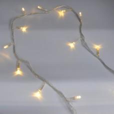 Гирлянда-нить (String-Lights) 300WW-1 внутренняя, пров.:прозрачный, 12м (Белый-теплый)