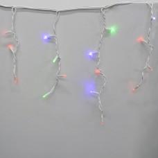 Гирлянда-бахрома (Icecle-Lights) 120 Short curtain-M-1 наружная, пров.:белый, 5м (Разноцветная)