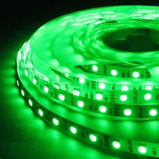 Гирлянда-лента LED 5050 G наружная, пров.:прозрачный, 5м (Зеленый)