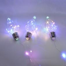 Гирлянда-штора (Curtain-Lights) 150M-5 внутренняя, пров.:прозрачный, 3м (Разноцветная)