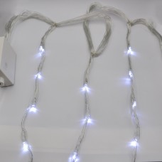 Гирлянда-водопад (Curtain-Lights) Itrains 320W-2 внутренняя, пров.:прозрачный, 3*1.5м (Белый)