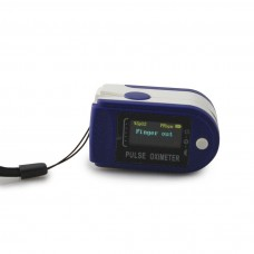 Пульсоксиметр FINGERTIP PULSE Oximeter Color TFT (Синий)