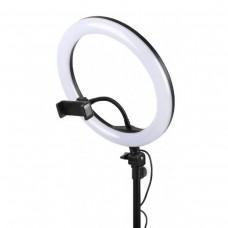 Кольцевая лампа RGB 33 см MJ33 LED filling lamp BlackBox (с 1 держ.)