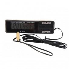 Термометр с часами VST-7065
