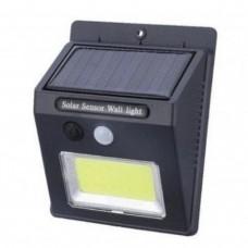 Уличный настенный светильник с датчиком движения SH-1605COB квадратная