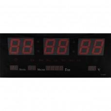 Часы 3615 красные