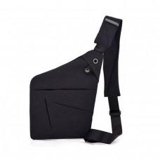 Мужская сумка-мессенджер Cross Body Черная