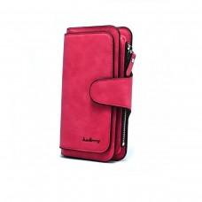 Портмоне Baellerry N2345 Темно-красный