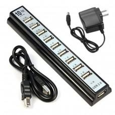 Разветлитель USB HUB 10 PORTS 220V