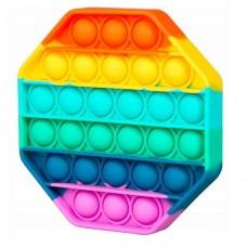 Игрушка антистресс вечная пупырка PopIt Восьмиугольник