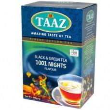 Чай TAAZ 1001 ночь зеленный/черный 100 г