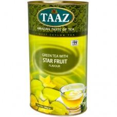 Чай TAAZ Карамболь зеленый 100 гр ж/б