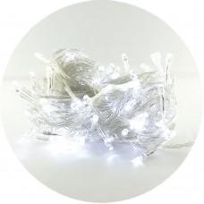 Гирлянда-нить (String-Lights) 300W-1 внутренняя, пров.:прозрачный, 12м (Белый)