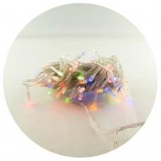 Гирлянда-нить (String-Lights) 500M-1 внутренняя, пров.:прозрачный, 30м (Разноцветная)