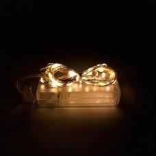 Гирлянда-роса (Copper Wire) 30WW-1 внутренняя, пров.:прозрачный, 3м (Белый-теплый)