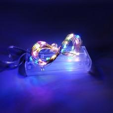 Гирлянда-роса (Copper Wire) 30M-1 внутренняя, пров.:прозрачный, 3м (Разноцветная)